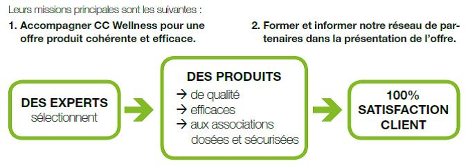 La mission des experts CC Wellness